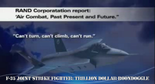 "The F-35 Joint Strike Fighter: A One Trillion Dollar Boondoggle That is ""Too Big to Fail"" (g1a2d0066c1)"