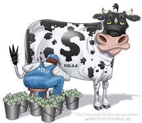 ACLU NDAA Cash Cow