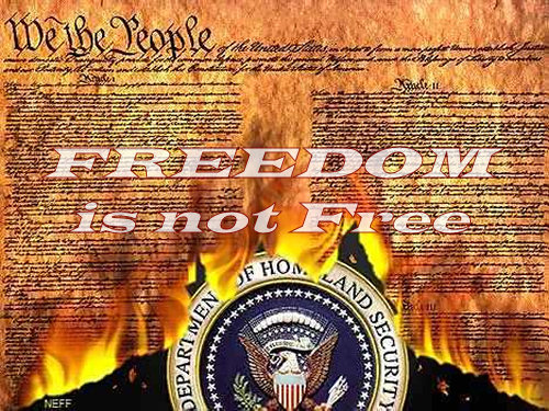 Freedom Is Not Free!