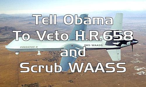 HR658 DHS WAASS Surveillance Drones: 1984 Meets Terminator