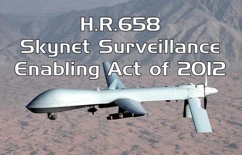 HR 658 WAASS Skynet Surveillance Drones