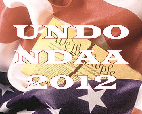 UNDO NDAA 2012