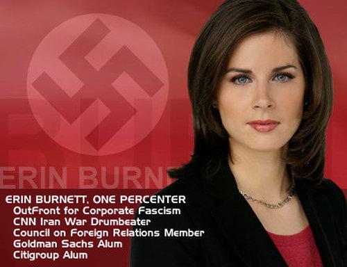 Erin Burnett: OutFront Fascist