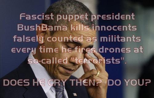 Obama Drones Guns Newtown